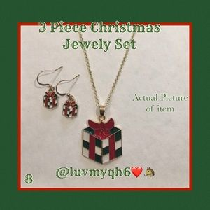 3 Piece Jewelry Set Christmas Present